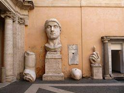 patio central Museos Capitolinos