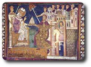 donacion roma medieval
