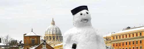 qué hacer en Roma en invierno