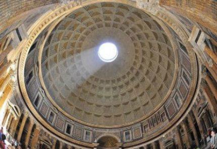 Cúpula del Panteón de Roma
