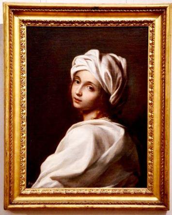 Beatrice Cenci de Guido Reni en Palacio Barberini