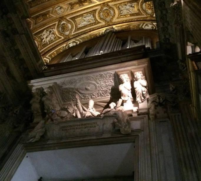 sant agnese in agone tumba inocencio x