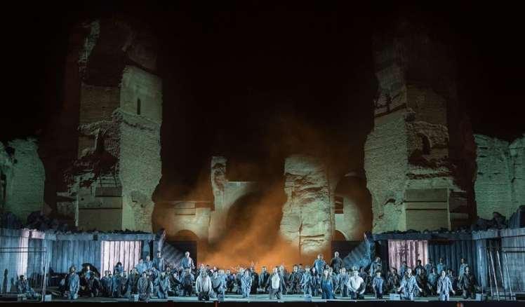 Termas de caracalla Opera Roma