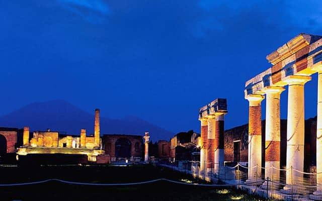 cómo llegar a pompeya desde roma