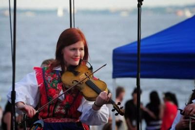 Violoniste à la Swedish Summer Fest