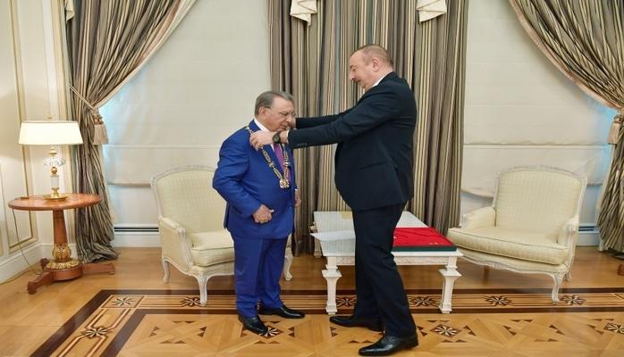 Image result for İlham Əliyev və Ramiz Mehdiyev