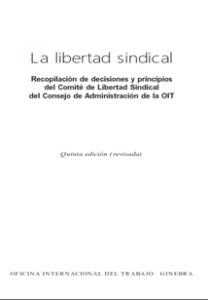 Principios del comité de libertad sindical - 2006