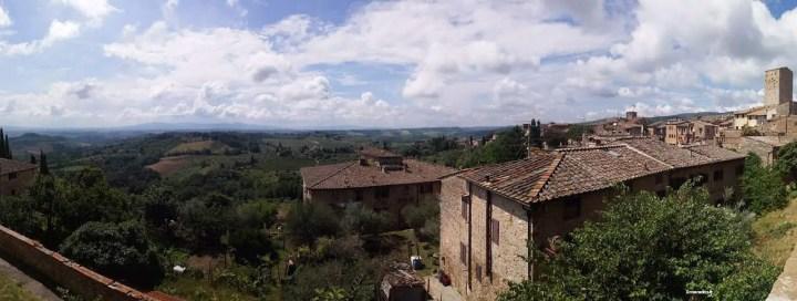 Point de vue San Gimignano