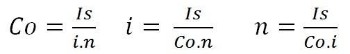 Cómo calcular Interés simple  interés simple  formulas de interes simple