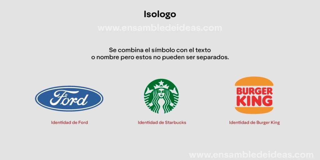 ¿Qué es una isologo? Ejemplo de marca