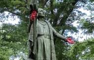 Colón con las manos ensangrentadas en EE UU