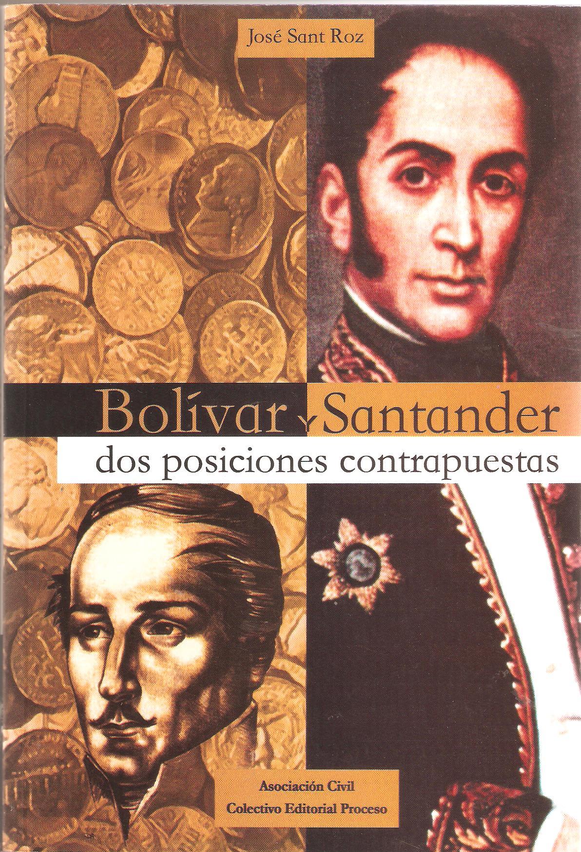 Bolívar y santander