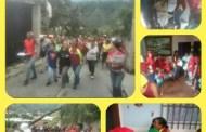 Candidatas del Psuv visitan Parroquias Arias y Jacinto Plaza (Mérida)