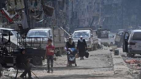 Mierda!: en Siria, los Cascos Blancos secuestraron a 44 niños para usarlos en un montaje de ataque químico...