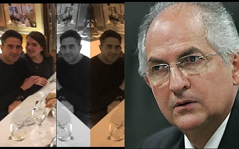 El yerno de Ledezma, Luis Vuteff García, que  cayó preso en el marco de la Operación