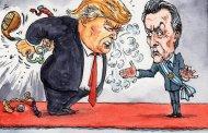 Por qué Trump violó tan asquerosamente a Macri, luego que éste le jalara hablando contra Venezuela?...