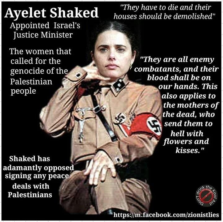 Lo que es imposible de ocultarlo: Hitler redivivo en cuerpo de mujer