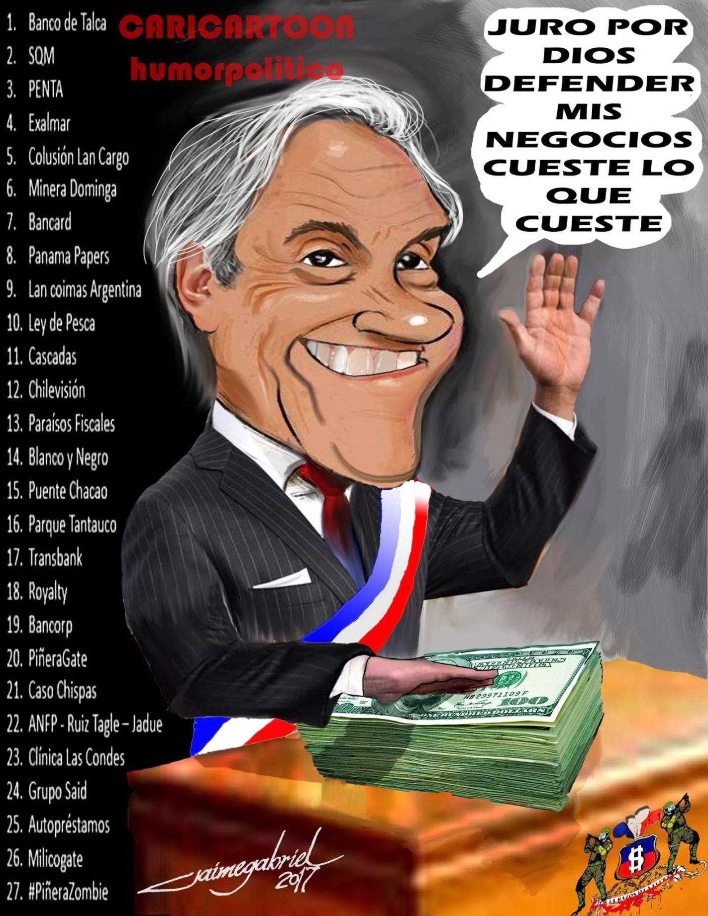 35 años robando y estafando: El escandaloso prontuario delictual de Sebastián Piñera