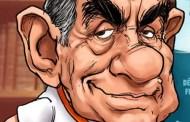 Otro que se seca, el viejo sinvergüenza Óscar Arias: sádico y burlón...
