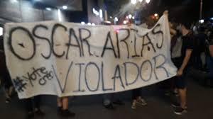 Mierda!: al aberrado anti-chavista Óscar Arias le sale cadena perpetua por violaciones, abusos y hostigamientos...