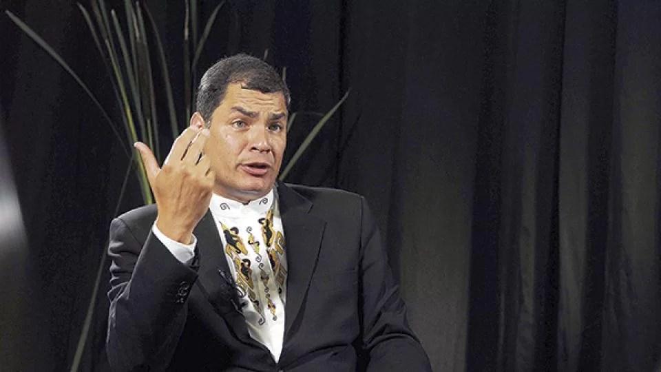 El ex presidente ecuatoriano Rafael Correa no cree viable que Estados Unidos invada a Venezuela