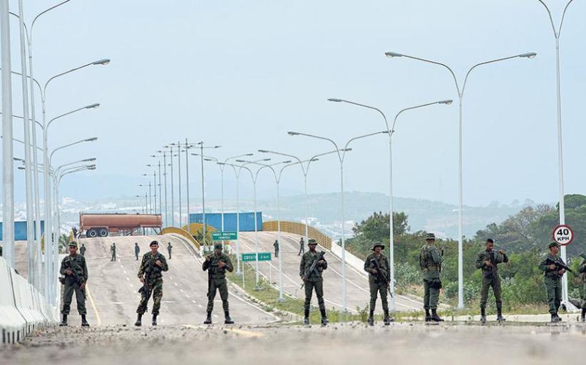 Alerta máxima en la frontera...!!!  Táchira una puerta clave de entrada a Venezuela …