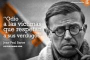 Todo el mundo debe leer esto de Sartre, y entender que la Unión Europea es un asqueroso imperio lleno de asesinos y malditos colonialistas...