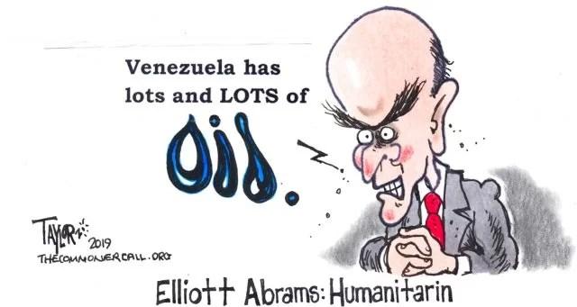 Elliot Abrams, supone que en Venezuela todos somos una putas locos por sus dólares... (VIDEO)