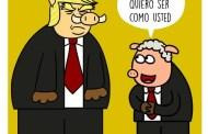Ahora Trump le echa mierda a su mejor narco-gobernante: a Iván Duque...