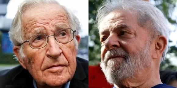 Noam Chomsky: Lula es el prisionero político más importante del mundo