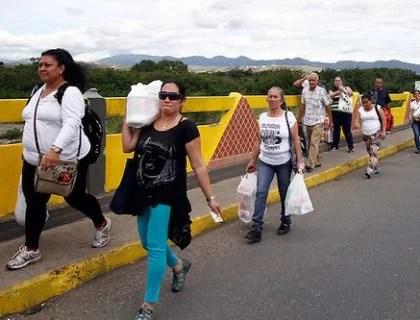 Por qué se abrió el paso peatonal en la frontera???