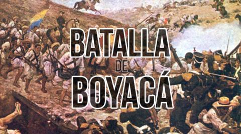 A 200 años de la BATALLA DE BOYACÁ, y sobre las criminales versiones de la oligarquía santanderista…