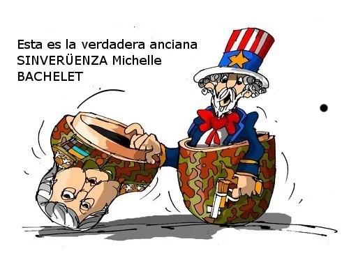 Consigne las pruebas, señora Bachelet...