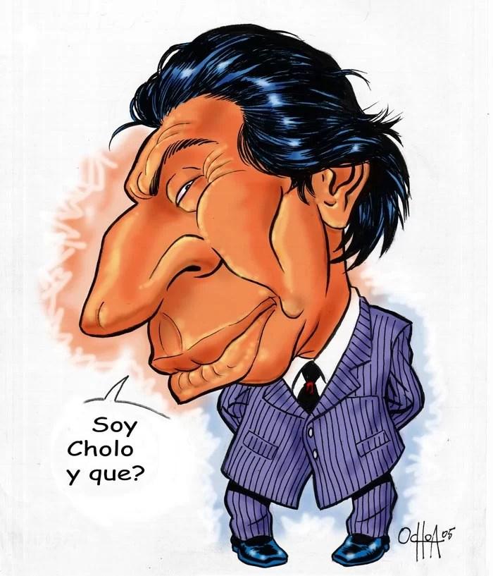 Capturado el cerdo anti-chavista, Alejandro Toledo, más chulo que cholo...