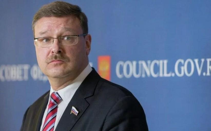 Qué propuesta tan grande ha hecho el senador ruso Konstantín Kosachov...