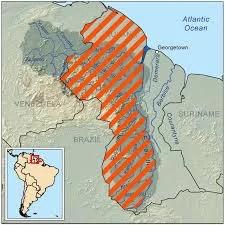 ...revelaciones candentes referidas al tema de Guyana ...
