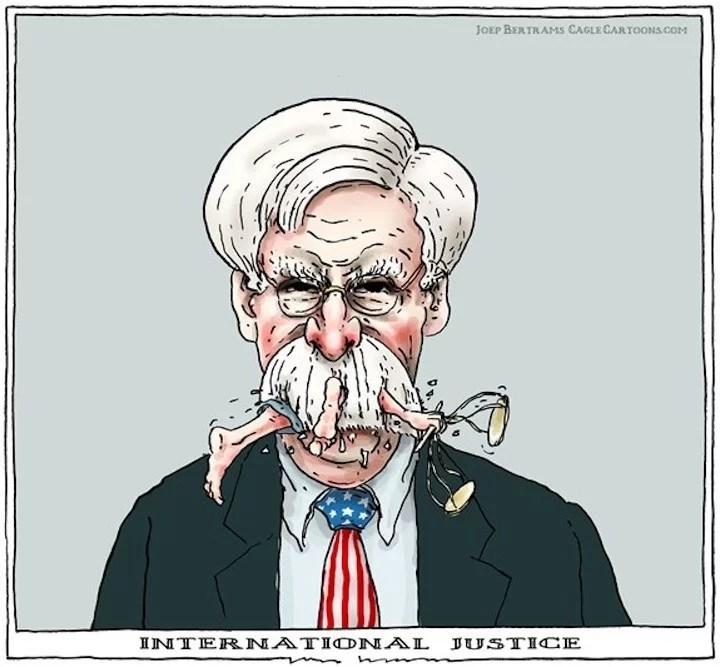 A  John Bolton le cayó la maldición de Chávez...