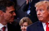 El diarreico Trump también sancionará a España por supuesto apoyo al Presidente Maduro...