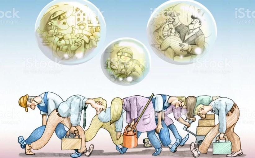 DESIGUALDADES ... El número de pobres en el mundo aumentó 46% desde 1980.