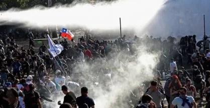 El tsunami chileno