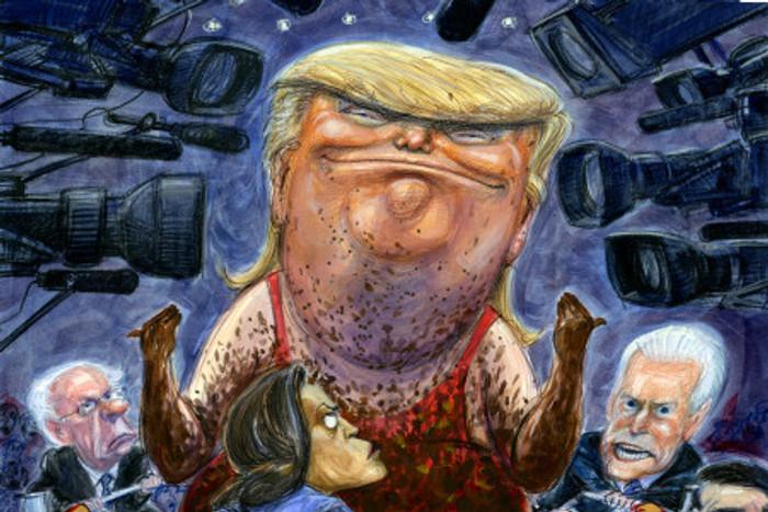 """ULTIMA HORA!: Trump: """"No necesito invadirlos. Morirán de hambre y enfermedades…""""..."""