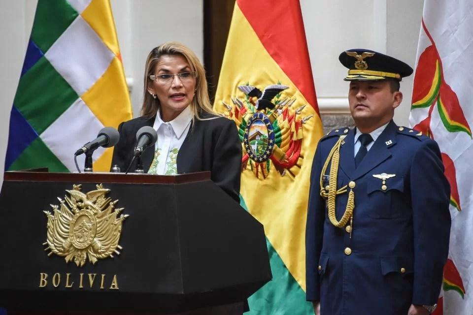 Fascismo del más puro y fidedigno en Bolivia…