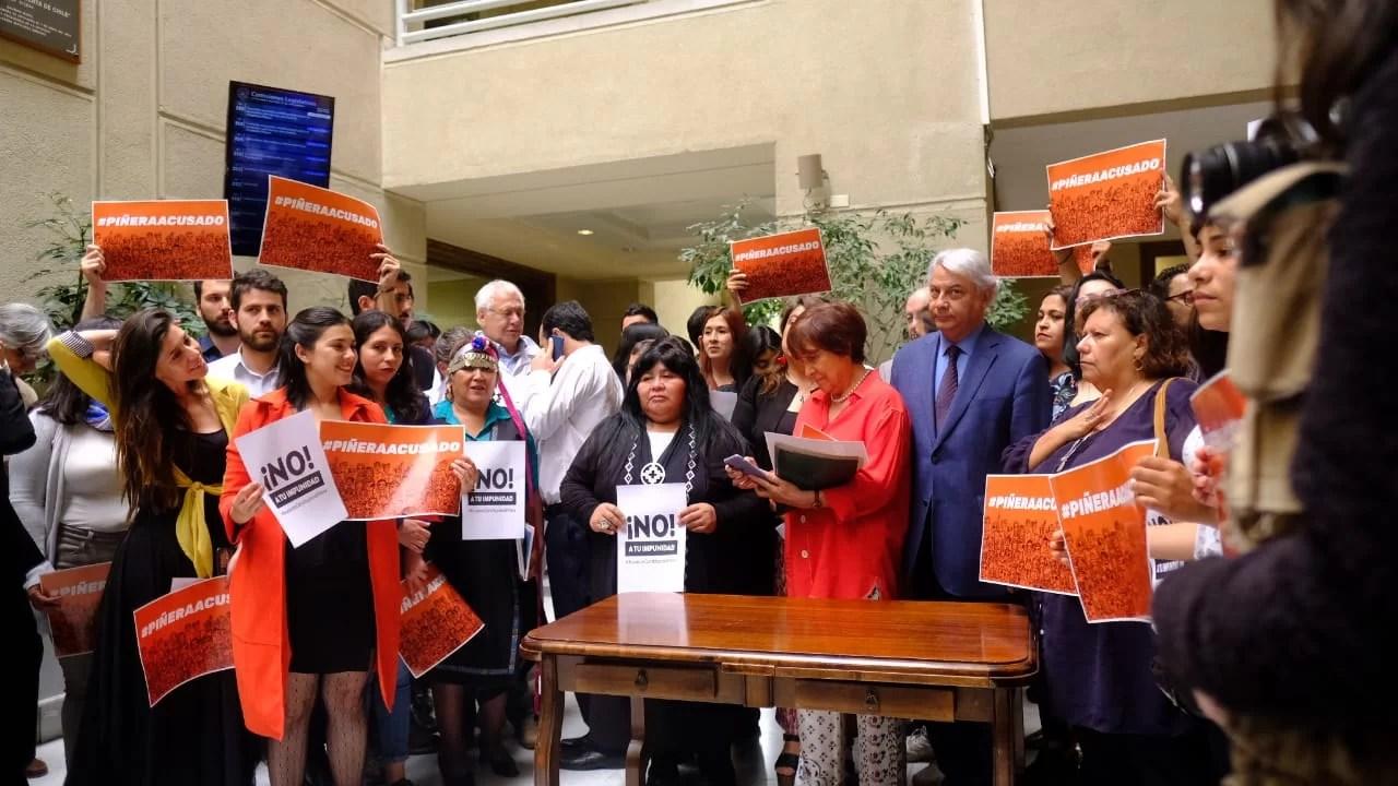 Piñera es el primer responsable de la violación de los derechos humanos del pueblo chileno en términos de las mayores atrocidades…