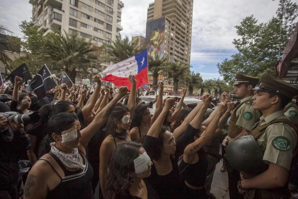 Chile despertó y para  siempre :