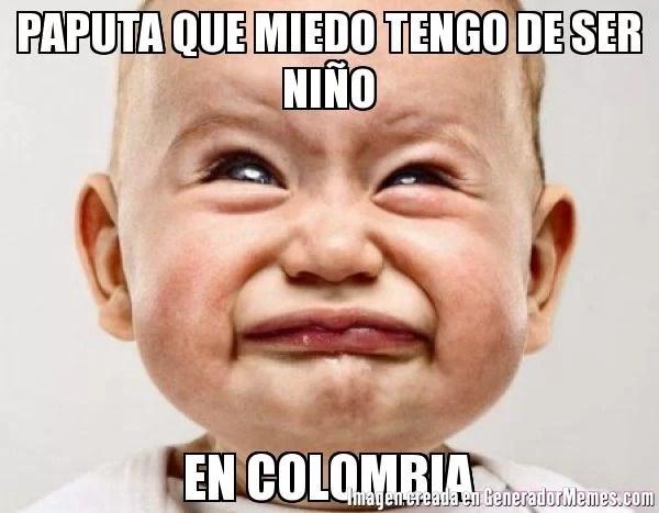 El bombardeo a siete niños en Colombia…