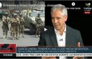 Entrevista a Alvaro García Linera, vicepresidente de Bolivia, en Telesur