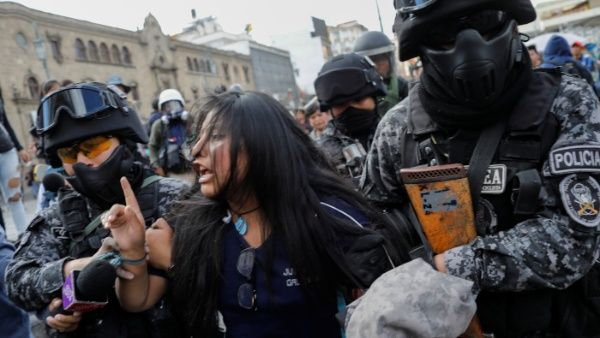 Misión argentina: Gobierno de facto en Bolivia responsable de delitos de lesa humanidad...