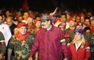 Nicolás Maduro en la caminata y discurso del 4 de Febrero recordando la insurrección cívico-militar