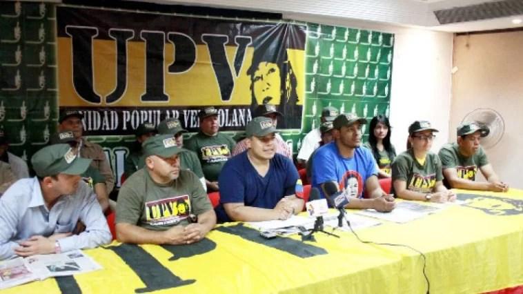 Este fue el llamado que hizo el partido UPV al pueblo