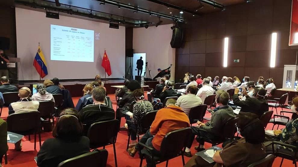 Venezuela y China realizaron Videoconferencia con especialistas internacionales para la prevención del COVID-19